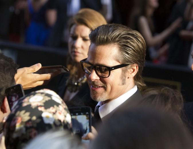 Brad Pitt à Sydney le 16 novembre 2014