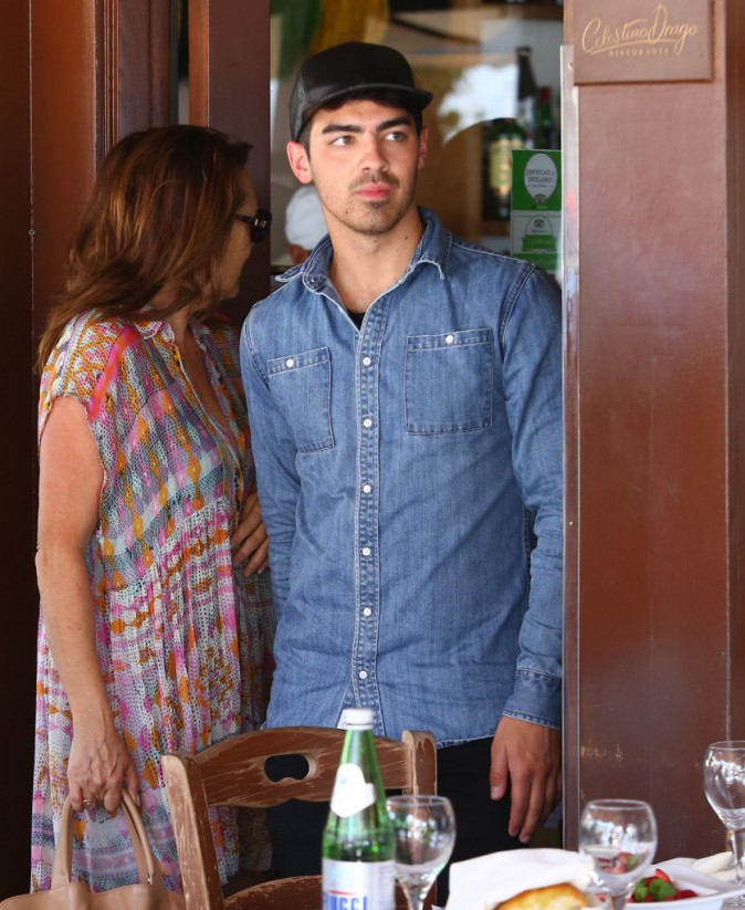 Joe Jonas le 15 juin 2015
