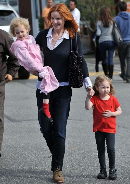Photo : Eden et Savannah, les jumelles de Marcia Cross