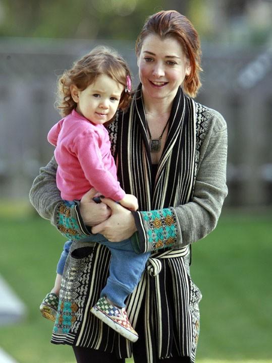 Photo : Satyana, la fille d'Alyson Hannigan