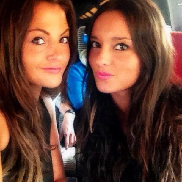Julia et Laura, dans le train direction Aix
