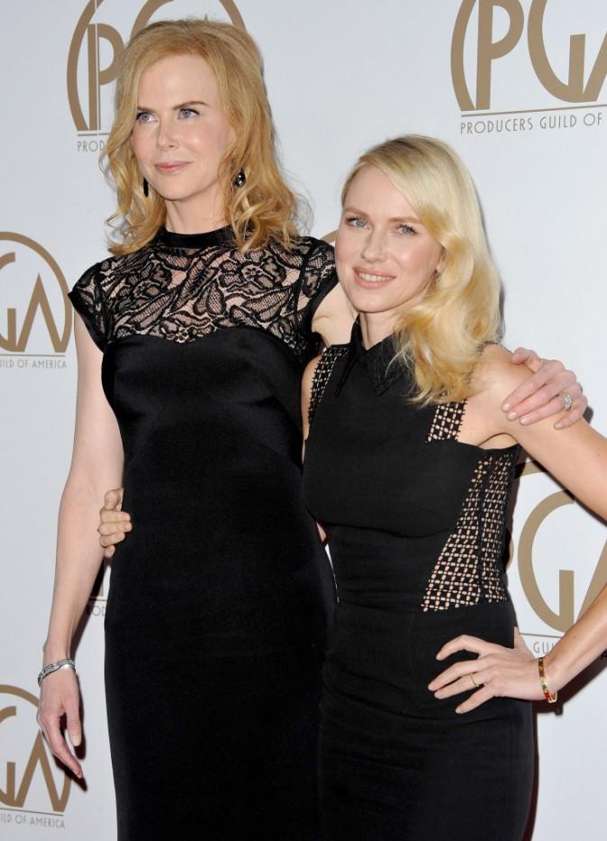 Les Australiennes Nicole Kidman et Naomi Watts