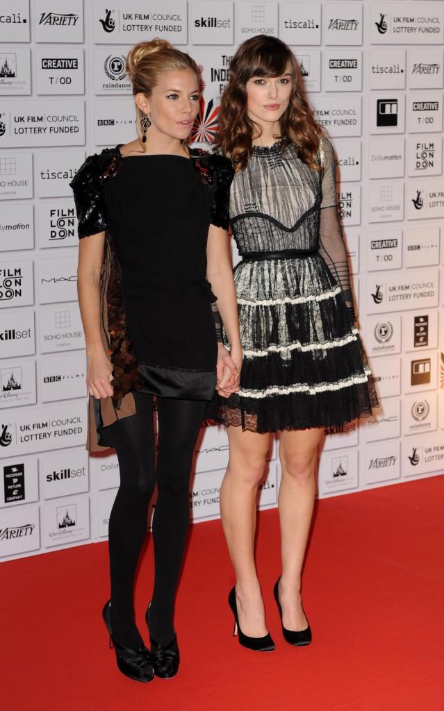 Sienna Miller et Keira Knightley