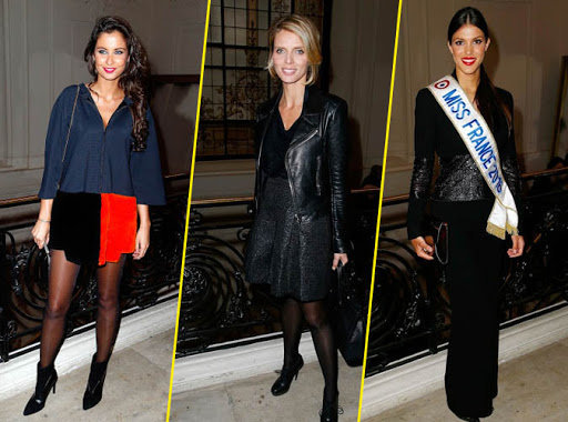 Photos : Défilé de Miss France chez Jean-Paul Gaultier
