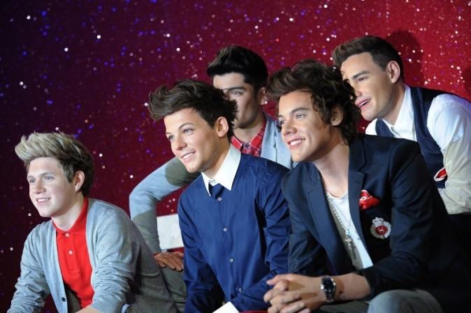 Les One Direction font leur entrée chez Madame Tussauds