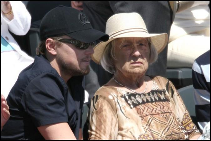 Leonardo Di Caprio et sa grand-mère