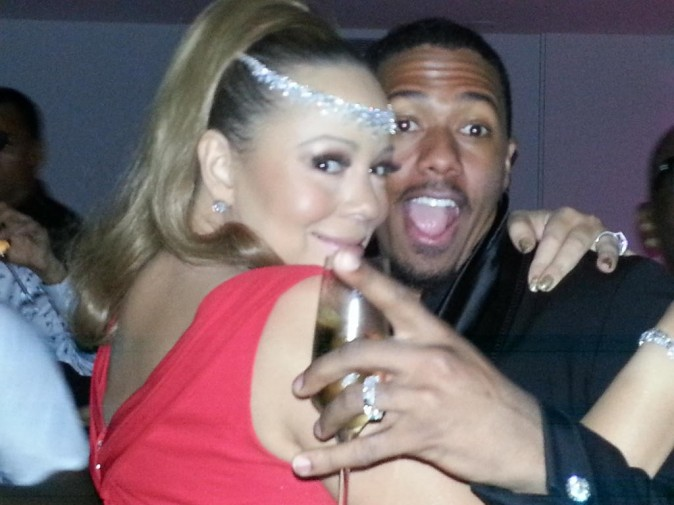 Mariah Carey et Nick Cannon ont fêté le nouvel an en Australie