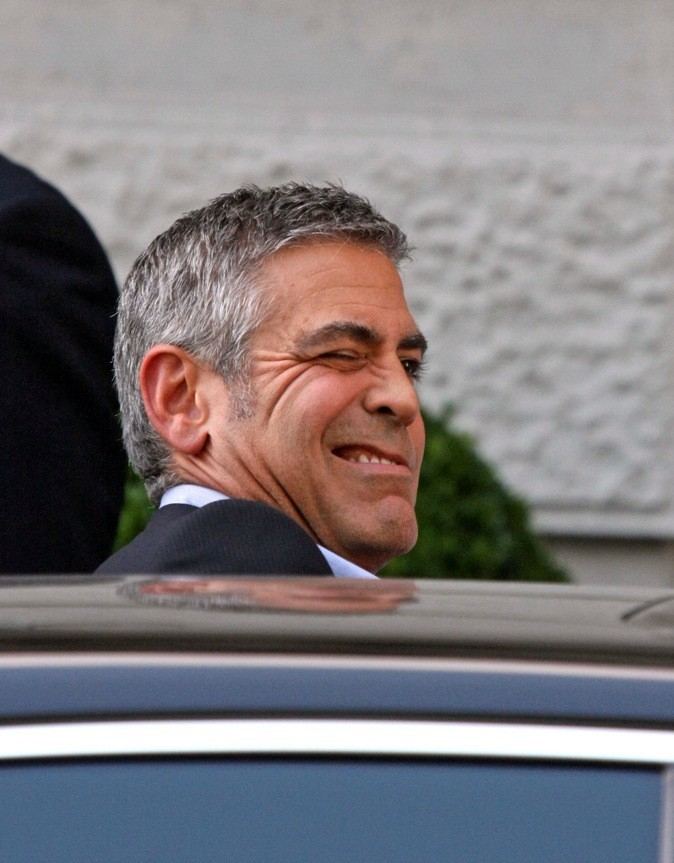 Petit clin d'oeil de George Clooney !