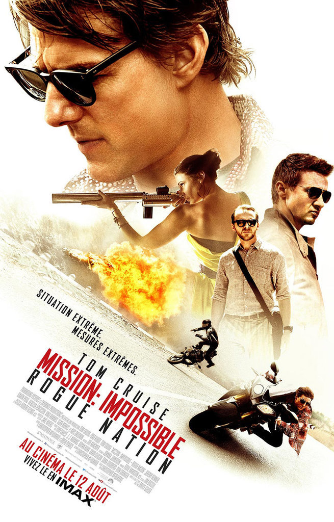 13. MISSION : IMPOSSIBLE ROGUE NATION : 2 804 822 entrées