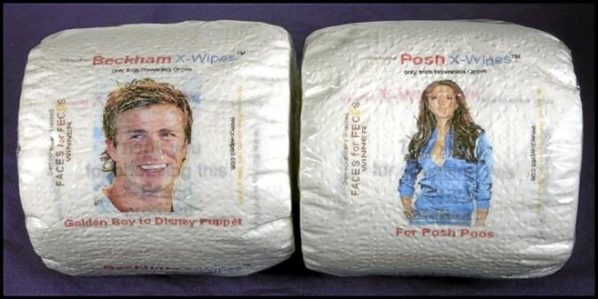 Le papier-toilette David & Victoria Beckham