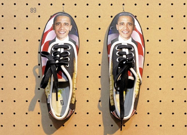 Les baskets en toile Barack Obama