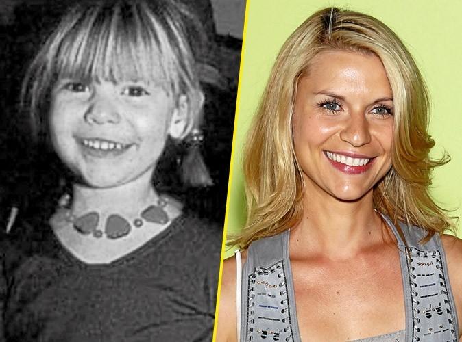 Photos star enfant : une jolie frange blonde pour Claire Danes !