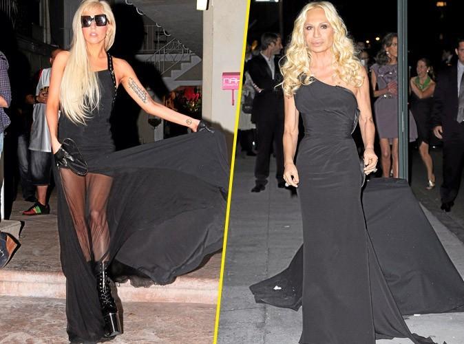 Lady Gaga et Donatella Versace