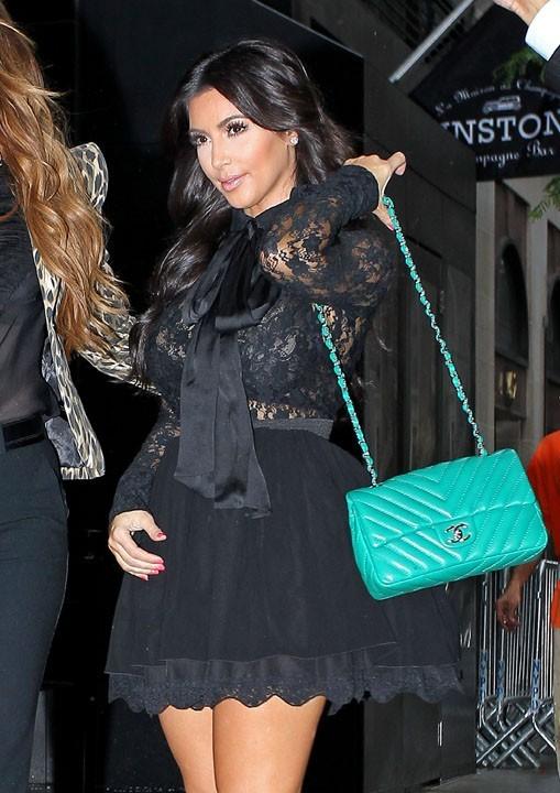 Kim Kardashian à New York, le 6 septembre 2011.