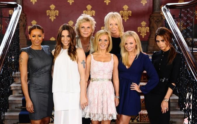 Les Spice Girls le 26 juin 2012 à Londres