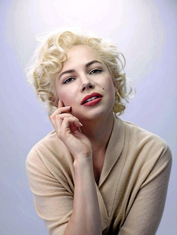 Photo : Michelle Williams incarne Marylin Monroe au ciné en 2011 !