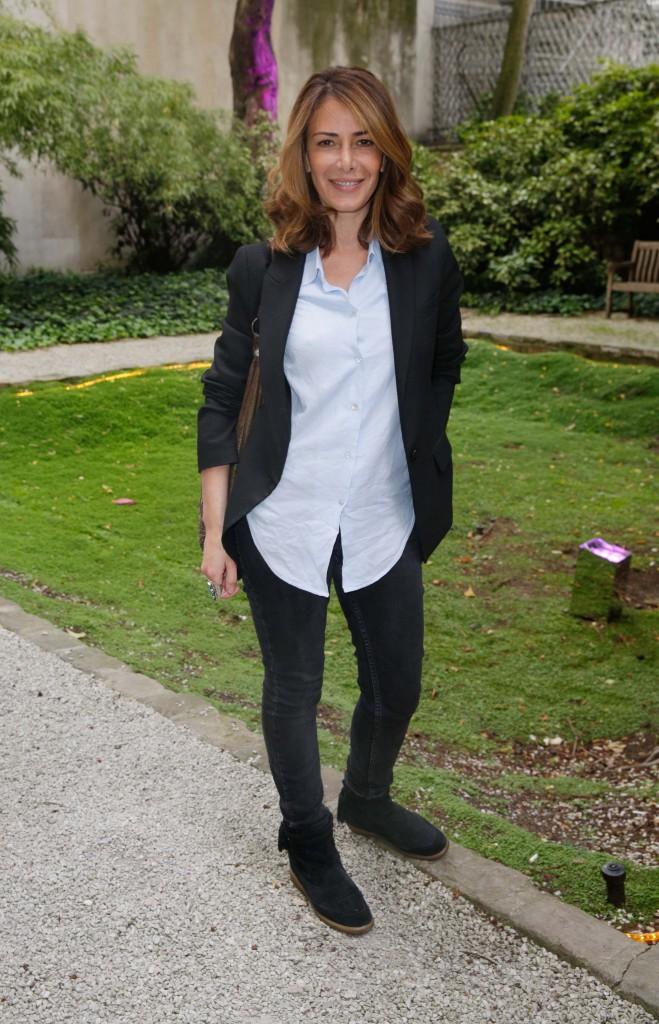 Elsa Fayer à la Aussie Party à Paris, le 4 juin 2014