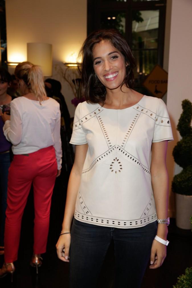 Laurie Cholewa à la Aussie Party à Paris, le 4 juin 2014