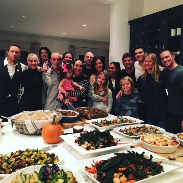 Le Thanksgiving de Gwyneth Paltrow