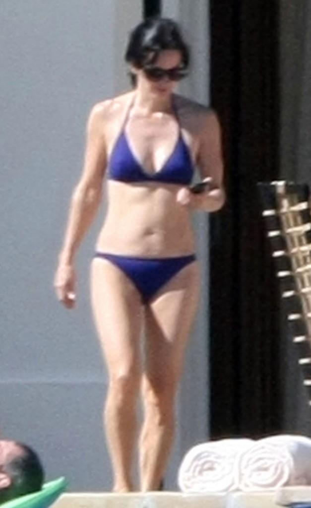 Courteney Cox : plus belle en maillot de bain !