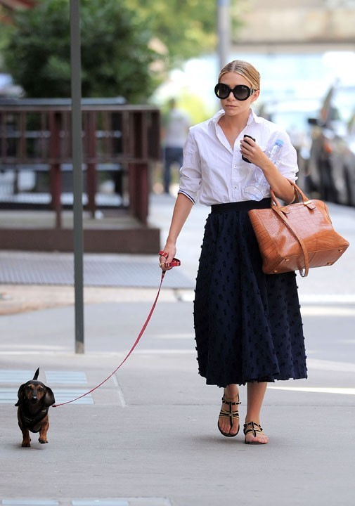 ...contrairement à Ashley Olsen !