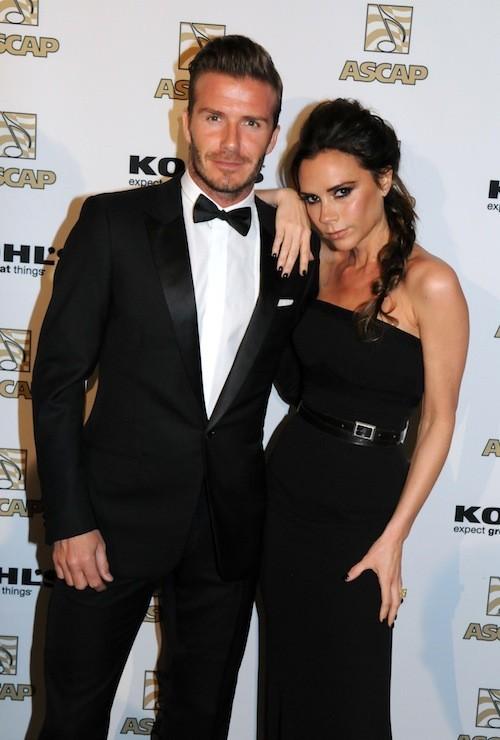 David et Victoria Beckham : 03/2012
