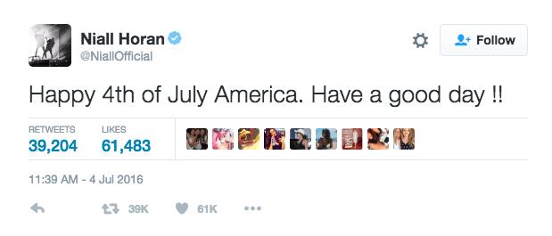 """Photos : Les stars se la jouent patriotes et fêtent le """"Fourth of July"""" sur les réseaux sociaux !"""