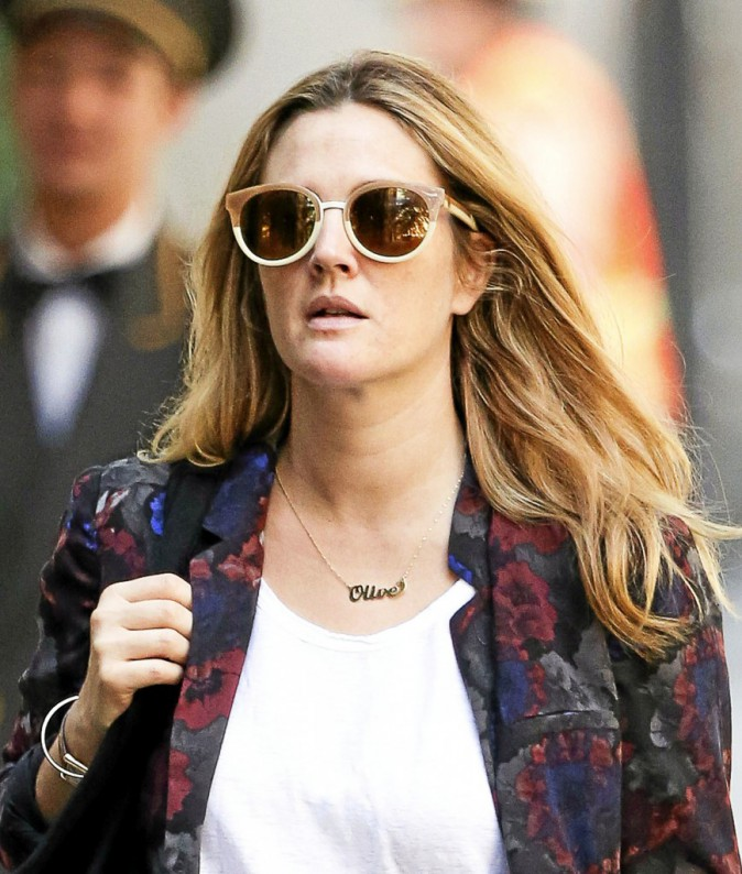 Drew Barrymore : In love d'Olive !
