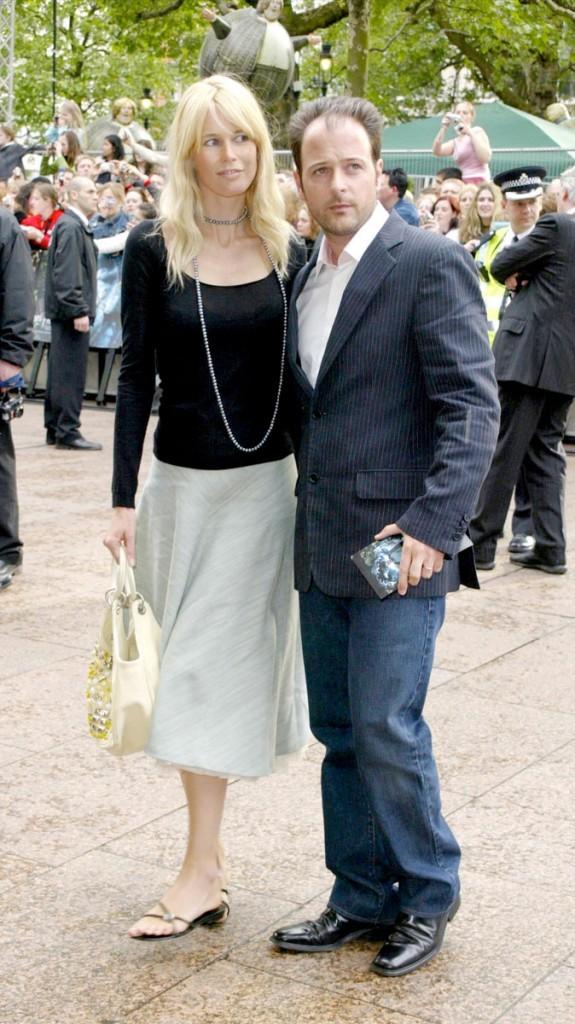 Différences de taille au sein du couple Claudia Schiffer et Matthew Vaughn : 5 cm