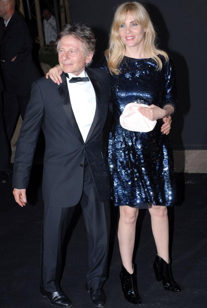 Différences de taille au sein du couple Emmanuelle Seignier et Roman Polanski : 8 cm