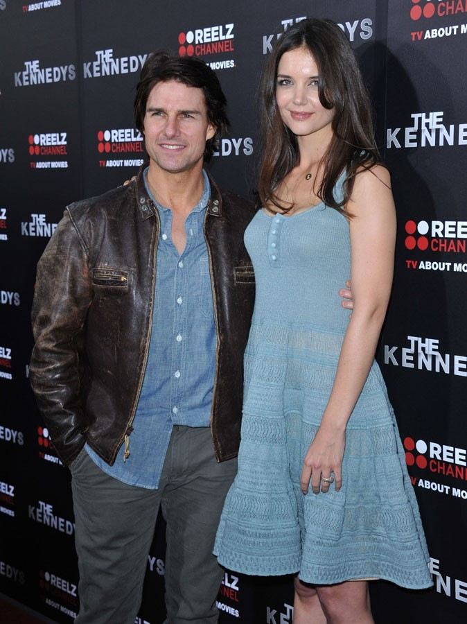Différences de taille au sein du couple Katie Holmes et Tom Cruise : 5 cm