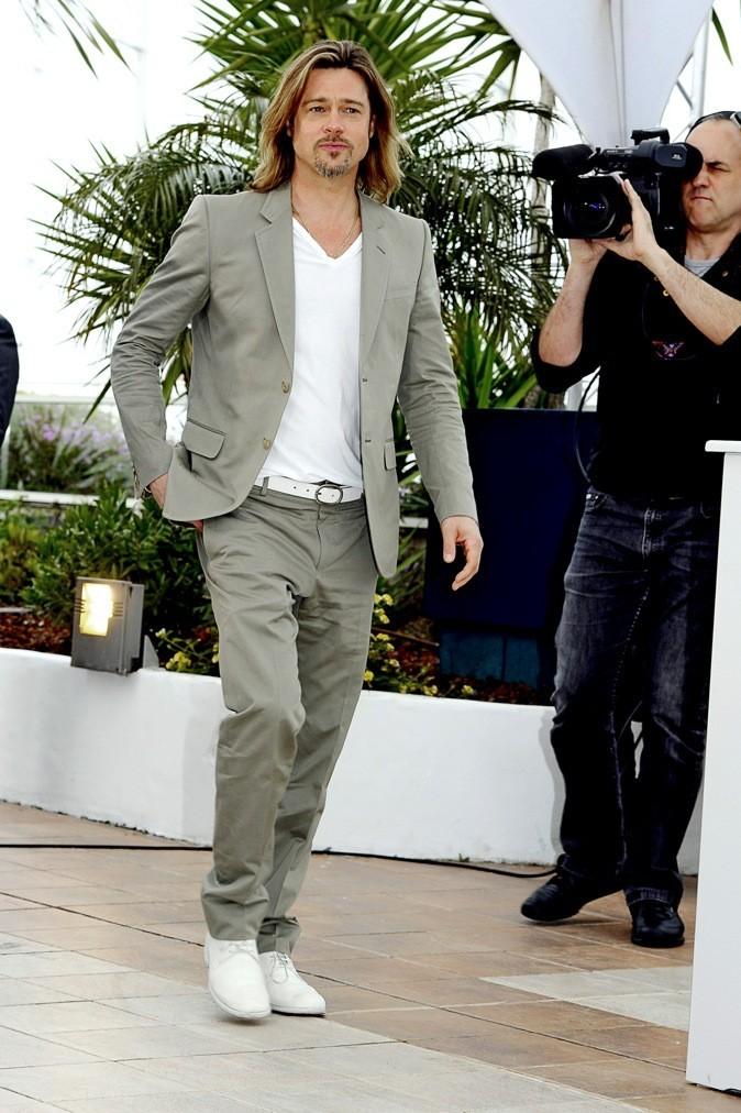 Brad Pitt : niveau bac !