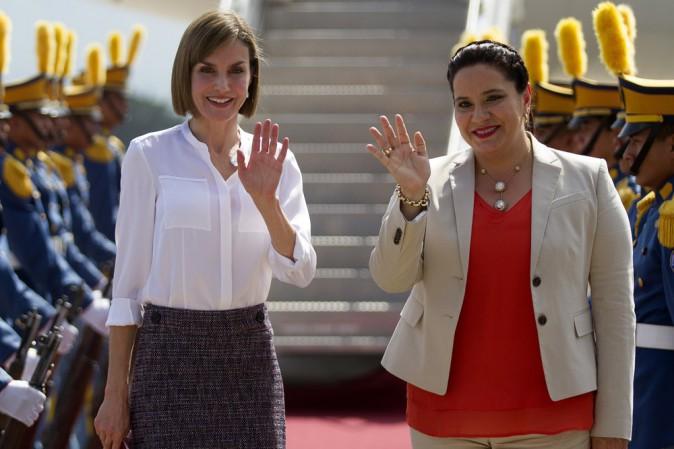 Photos : Letizia d'Espagne : c'est l'amour fou avec la première dame du Honduras !