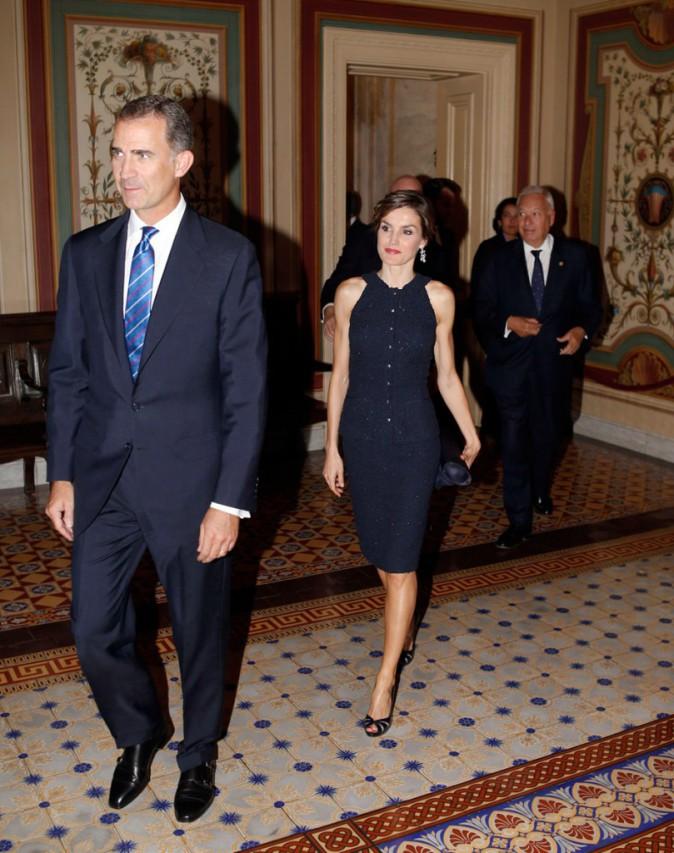 Letizia et Felipe d'Espagne au Capitole