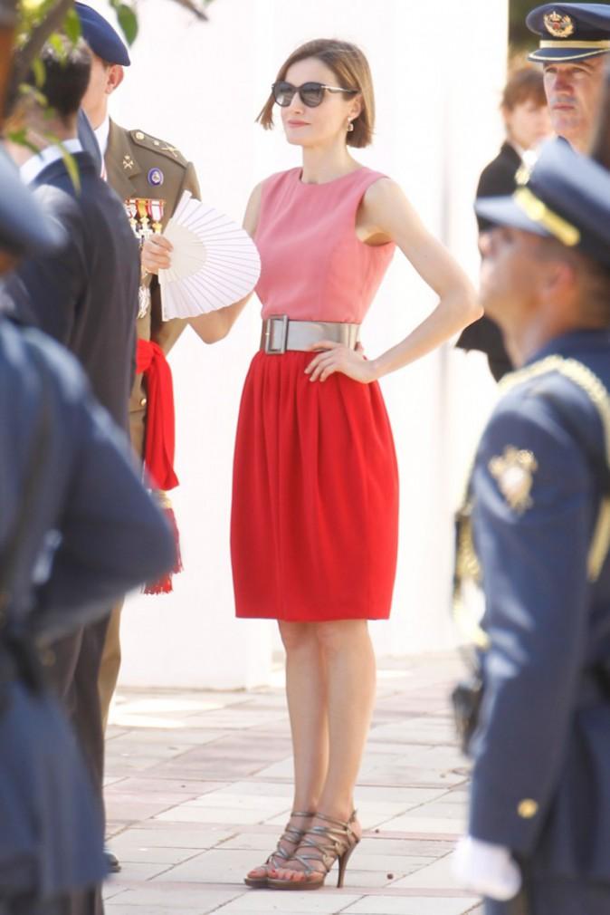 Letizia d'Espagne est toujours aussi belle, même en mode décontractée !