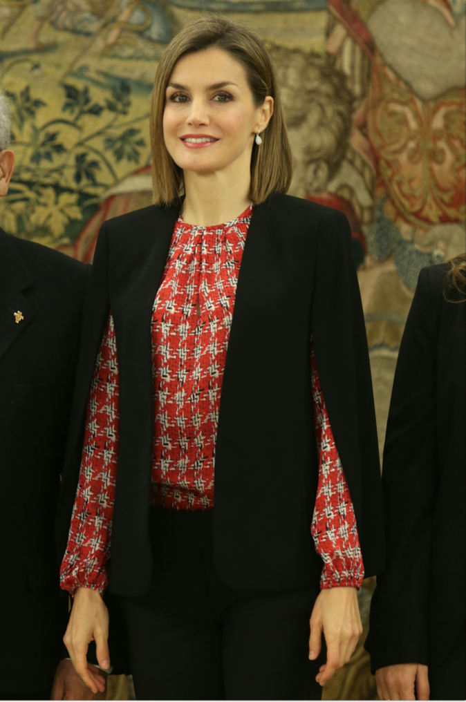 Photos : Letizia d'Espagne, reine de l'élégance