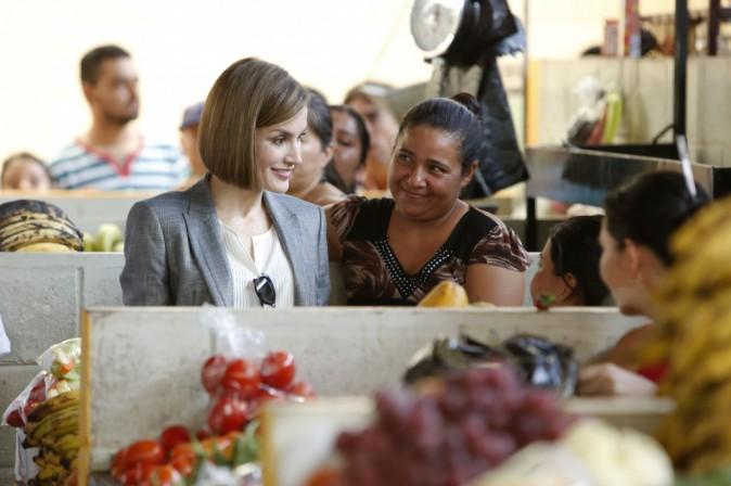 Photos : Letizia d'Espagne : une fin de mission riche en rencontres !