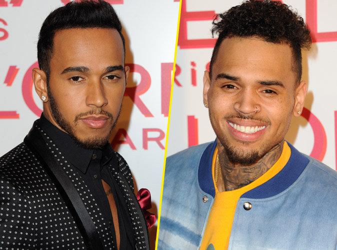Lewis Hamilton Vs Chris Brown