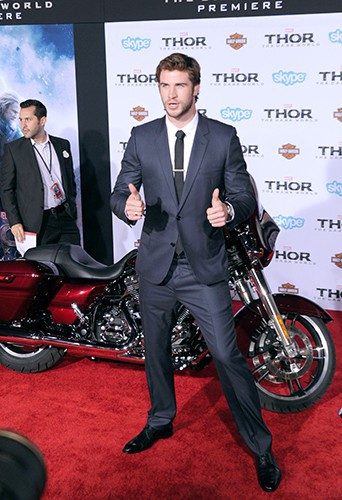 Liam Hemsworth à Los Angeles le 4 novembre 2013