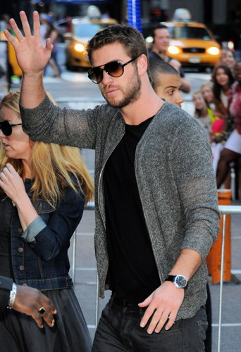 Liam Hemsworth à New-York le 5 août 2013