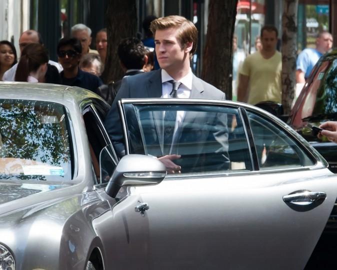 Liam Hemsworth le 21 août 2012 à Philadelphie