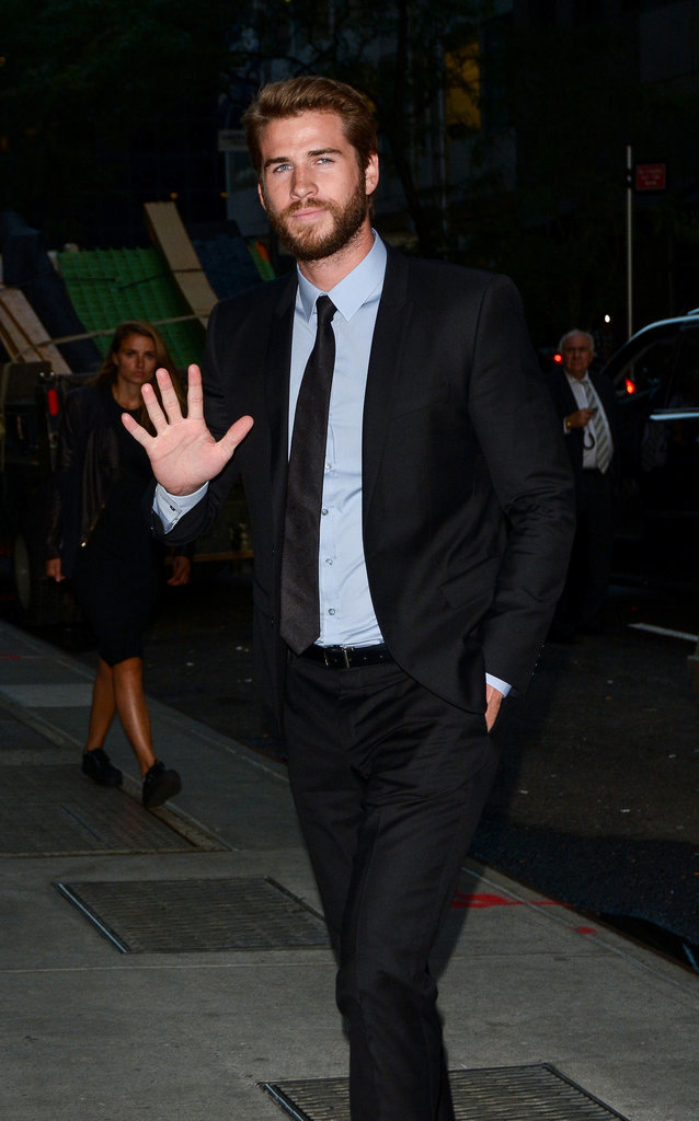 "liam hemsworth à l'avant-première du film ""The Dressmaker"" à New York"