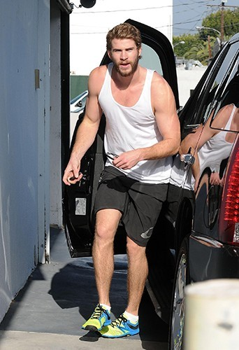 Liam Hemsworth à Los Angeles le 15 avril 2013