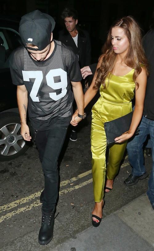 Photos : Liam Payne : très amoureux de sa nouvelle girlfriend en soirée à Londres !
