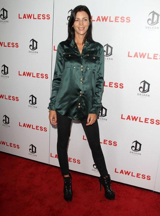 Liberty Ross à l'avant-première de Lawless le 22 août 2012