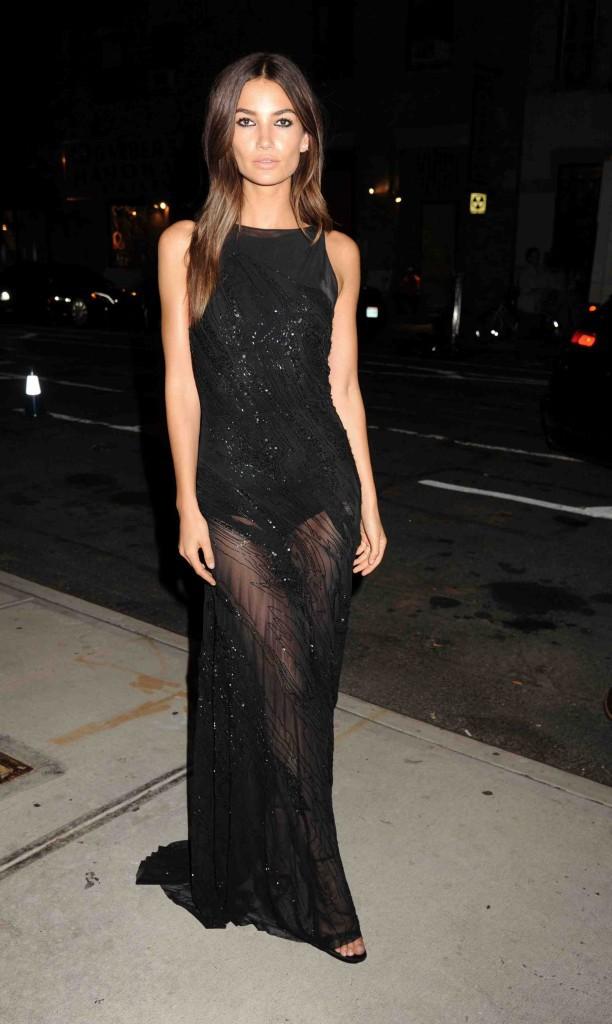 Lily Aldridge : à tomber par terre pour la soirée Victoria's Secret !