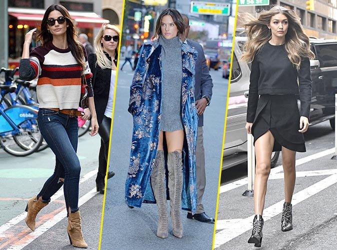 Lily Aldridge, Alessandra Ambrosio, Gigi Hadid ... les tops prennent d'assaut le siège social de Victoria's Secret !