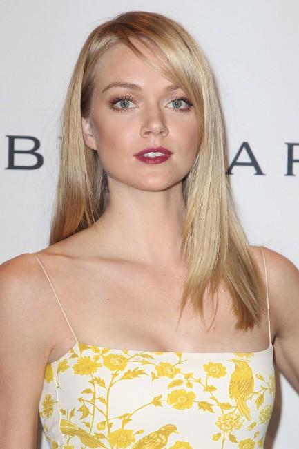 Lindsay Ellingson lors du gala de l'amfar à New York, le 5 février 2014.