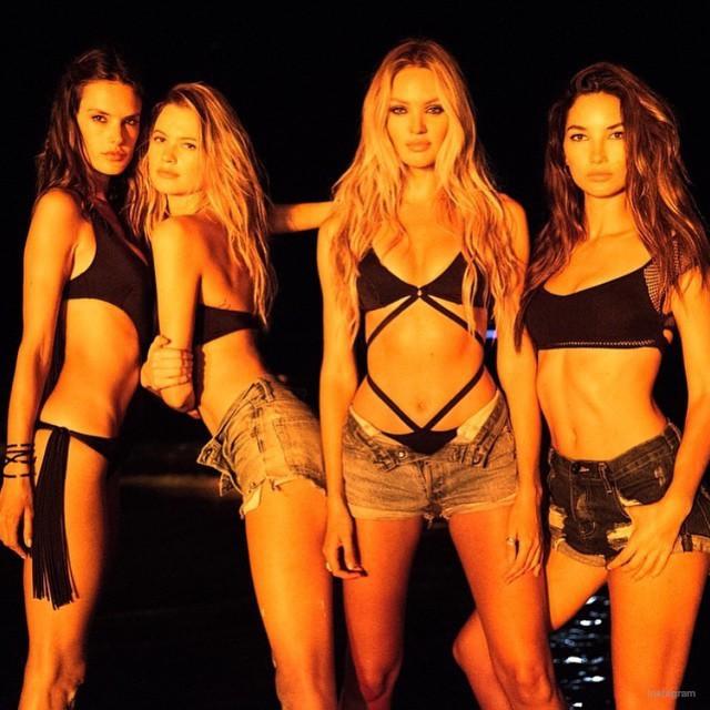 Lily Aldridge, Behati Prinsloo, Joan Small...Les tops Victoria's Secret nous réservent du lourd pour l'été !