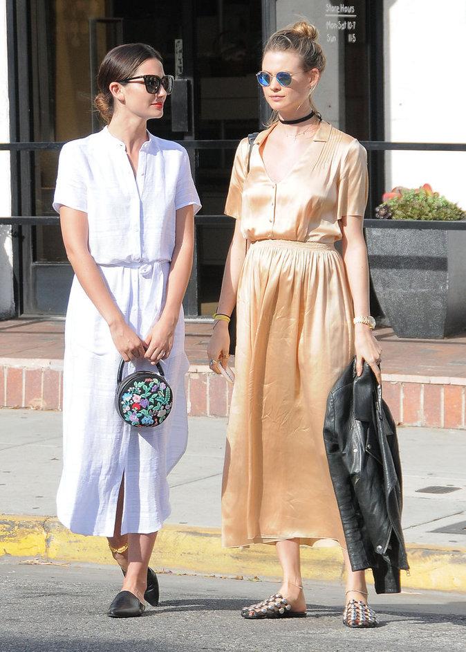 Photos : Lily Aldridge et Behati Prinsloo : les Anges en séance shopping !